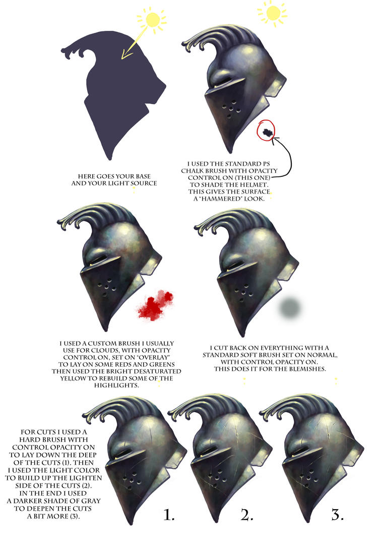 How To Digitally Paint Metal