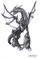 Xyliphius the Drake by MatesLaurentiu