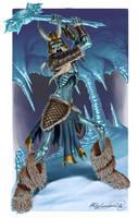 Jotunn Skeletal Ice Giant by MatesLaurentiu
