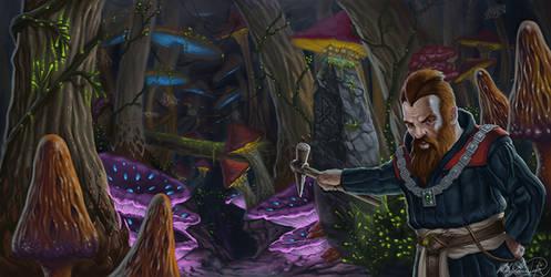 Mushroom Forest by MatesLaurentiu