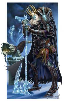 Krumma The Jotunn Skeletal Ice Giant King
