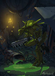 Cyborg Green