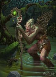 Swamp Hag by MatesLaurentiu
