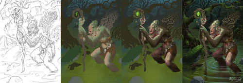 Swamp Hag steps by MatesLaurentiu
