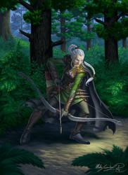 Praelia the scarred ranger
