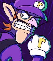 Dramatic Waluigi by Astral-Agonoficus
