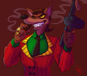 Pinstripe Potoroo by Astral-Agonoficus
