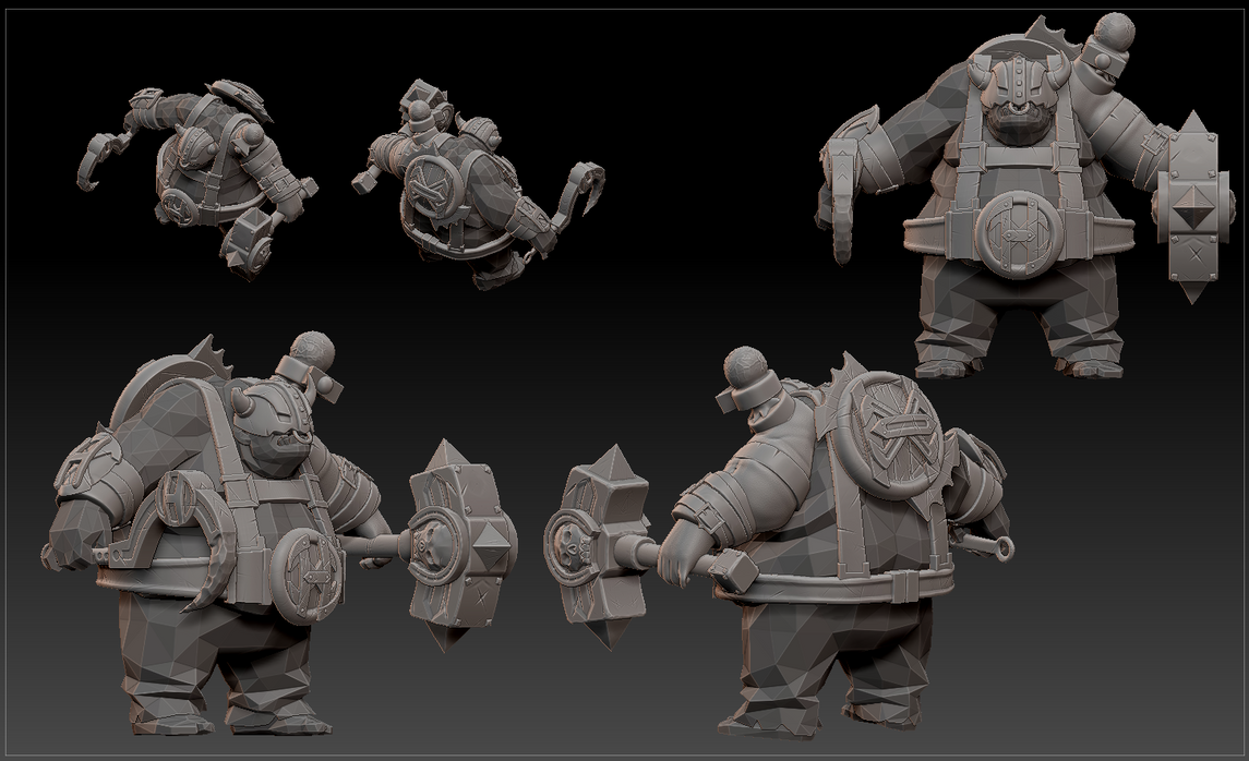 Pudge set for hOlyhexOr WIP 3 by nullf