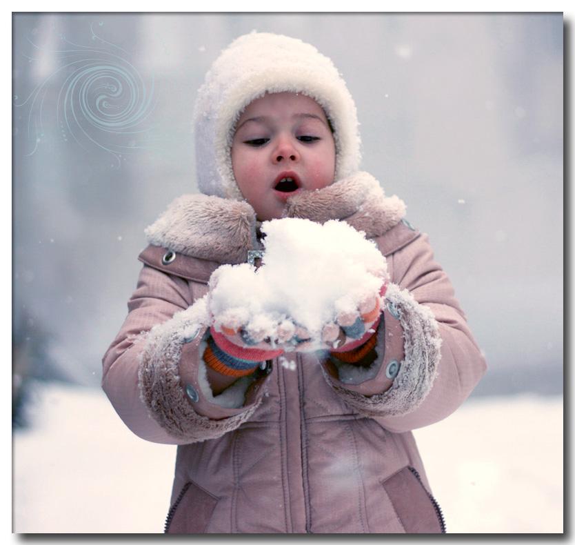 About fluffy snow    by mechtaniya - K�� *