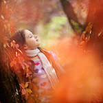 orange autumn by mechtaniya
