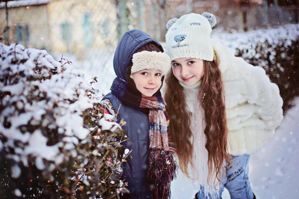 My kids) winter 2015 by mechtaniya