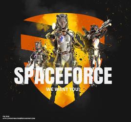 spaceForce by PeggyWalters