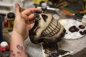 MC Skull Leather Mask