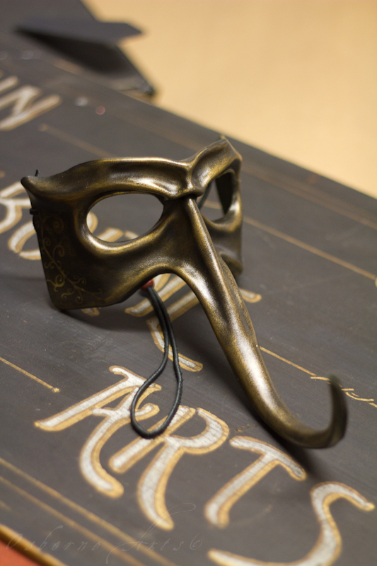 Long Nose Leather Mask by OsborneArts