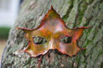 Autumn Maple Leaf Mask