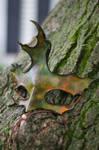 Fall Colors Oak Leaf Mask