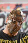 Piecemeal Leather Mask