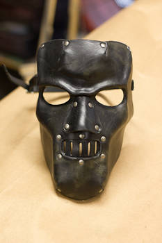 Horror Leather Mask