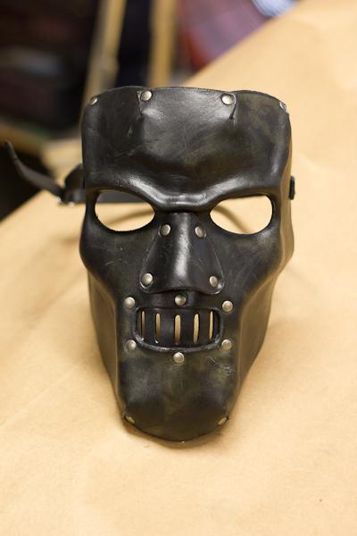 Horror Leather Mask by OsborneArts