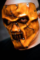 Custom Horror Leather Mask by OsborneArts