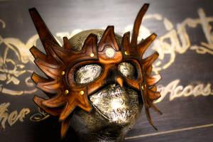 Steampunk Grypon Rider's Mask by OsborneArts