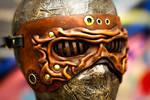 Steampunkish Wrinkled Mask