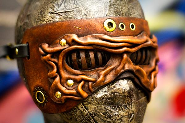 Steampunkish Wrinkled Mask by OsborneArts