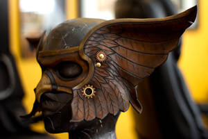 Valkyrie Leather Mask by OsborneArts