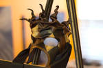 Twisted Jester Leather Mask