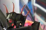 Horned Dragon Hunter Leather Mask