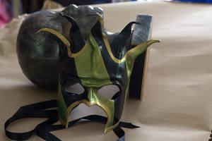Jester Leather Mask by OsborneArts