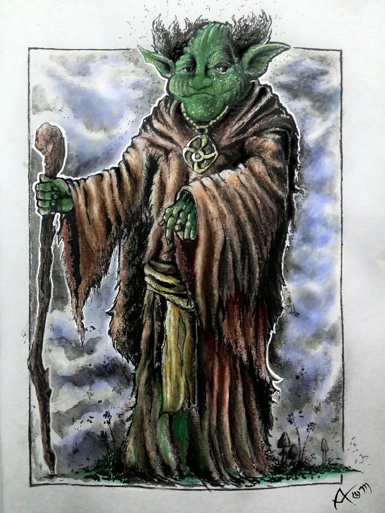 The Wise Goblin by Mythic-Artspace