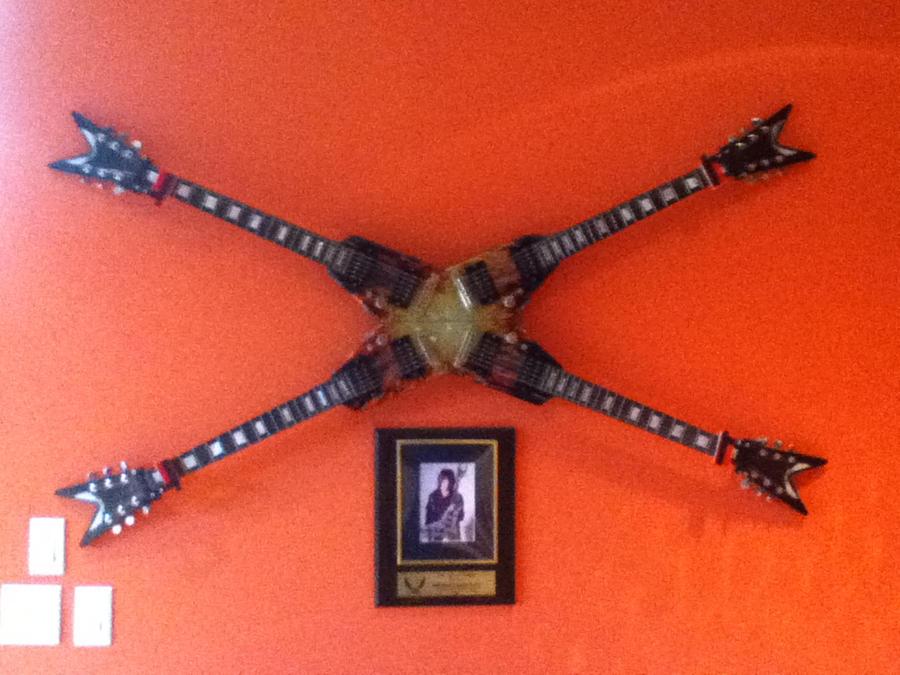 michael angelo batio quad neck guitar by metalheadrailfan on deviantart. Black Bedroom Furniture Sets. Home Design Ideas