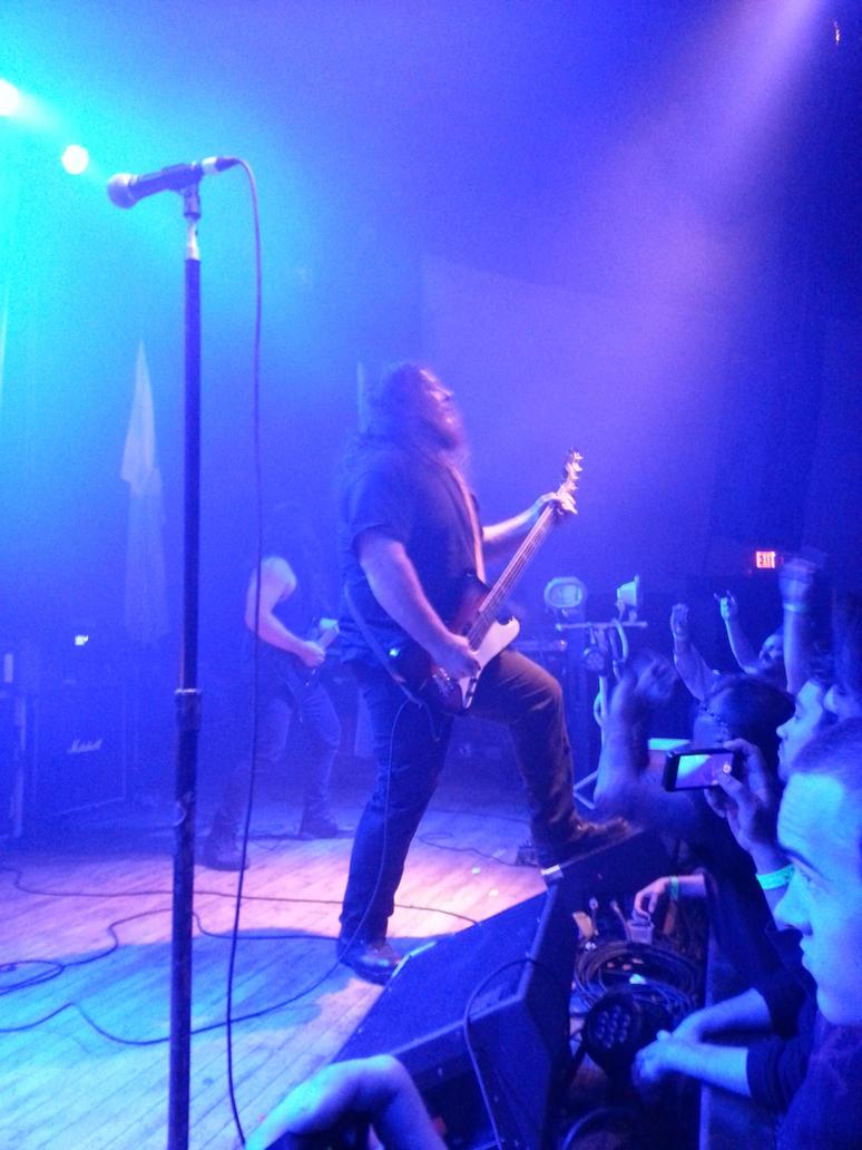 Obituary Live 11/1/14 by metalheadrailfan