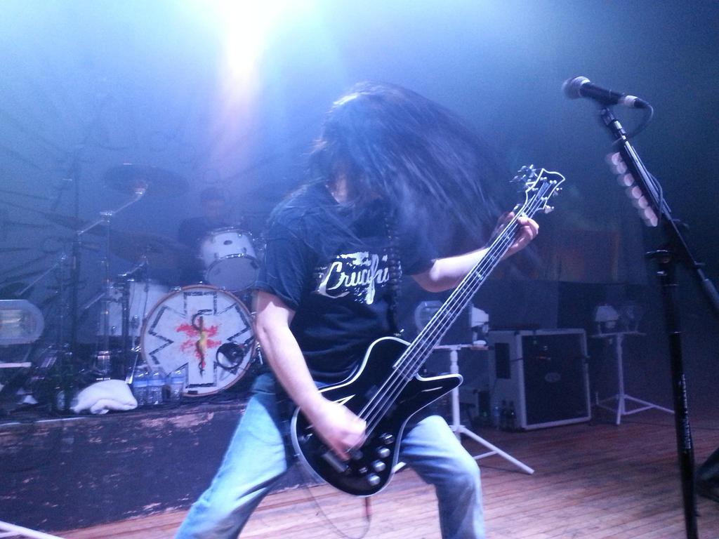Carcass Live 11/1/14 by metalheadrailfan