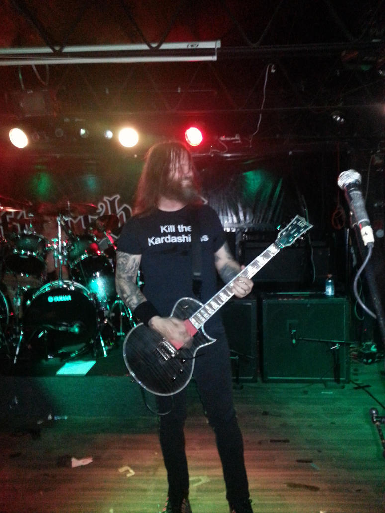 Exodus Live 12/7/14 by metalheadrailfan