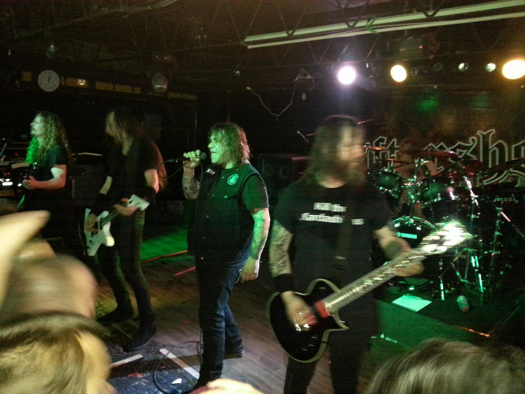 Exodus Live 12/8/14 by metalheadrailfan