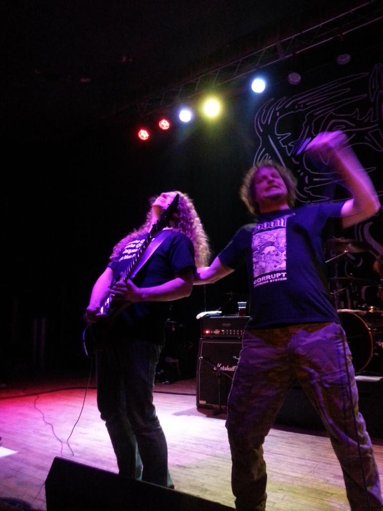 Voivod Live 2/26/15 by metalheadrailfan