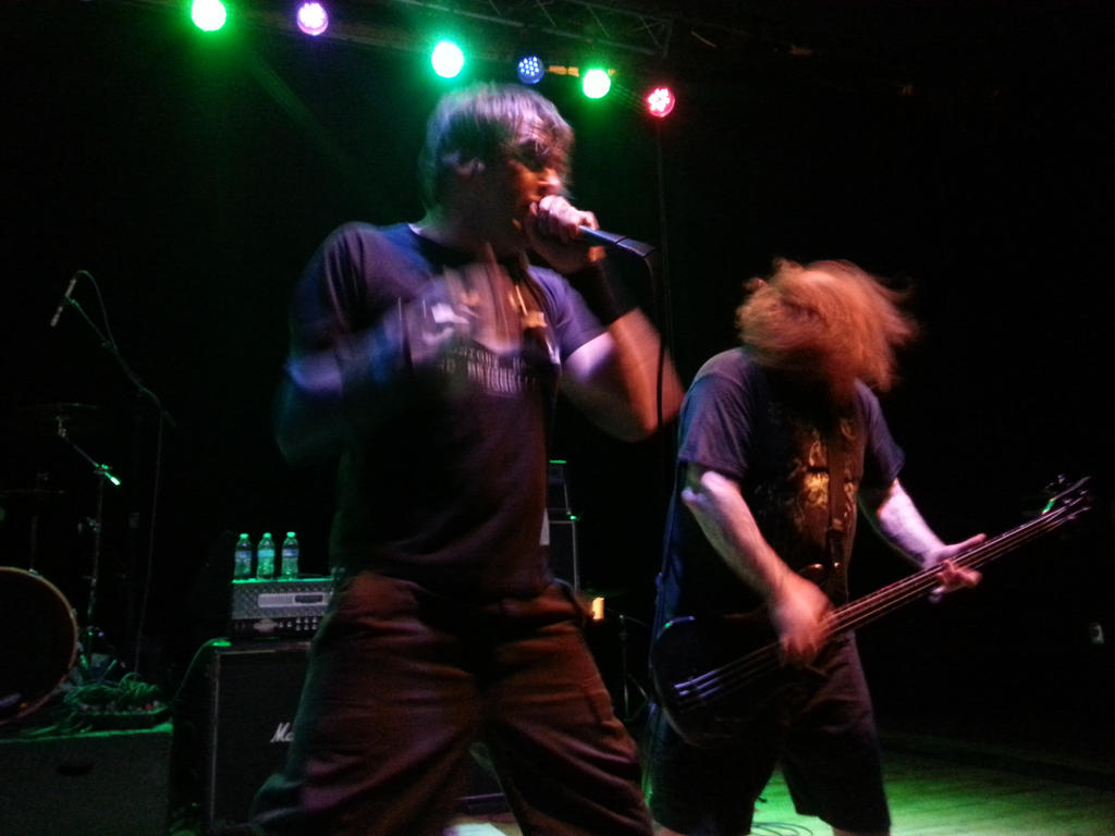 Napalm Death Live 2/26/15 by metalheadrailfan