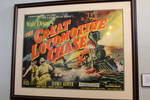 Great Locomotive Chase Movie Poster
