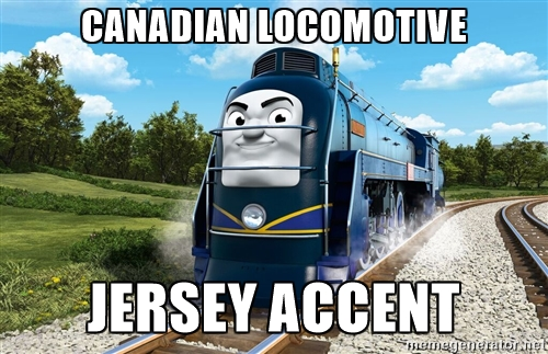 Again With the Accents by metalheadrailfan