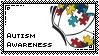 Autism Awareness Stamp~ by SweetlyCanada