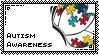 Autism Awareness Stamp~ by SweetlyCanada