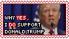 Yes to Trump (READ DESCRIPTION) by SweetlyCanada
