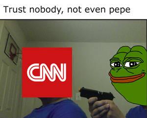We're onto you, CNN...
