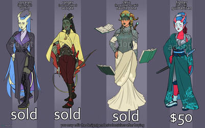 DnD Tiefling Adopts [closed]