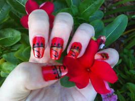 Ruby Bazaar Nail Art by MissDaniLips
