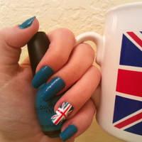 Union Jack Nails by MissDaniLips
