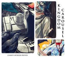 Kingdom Carousel Artbook Preview by Daenarys