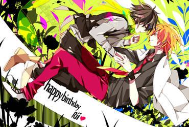 Happy Birthday Waifu by Daenarys